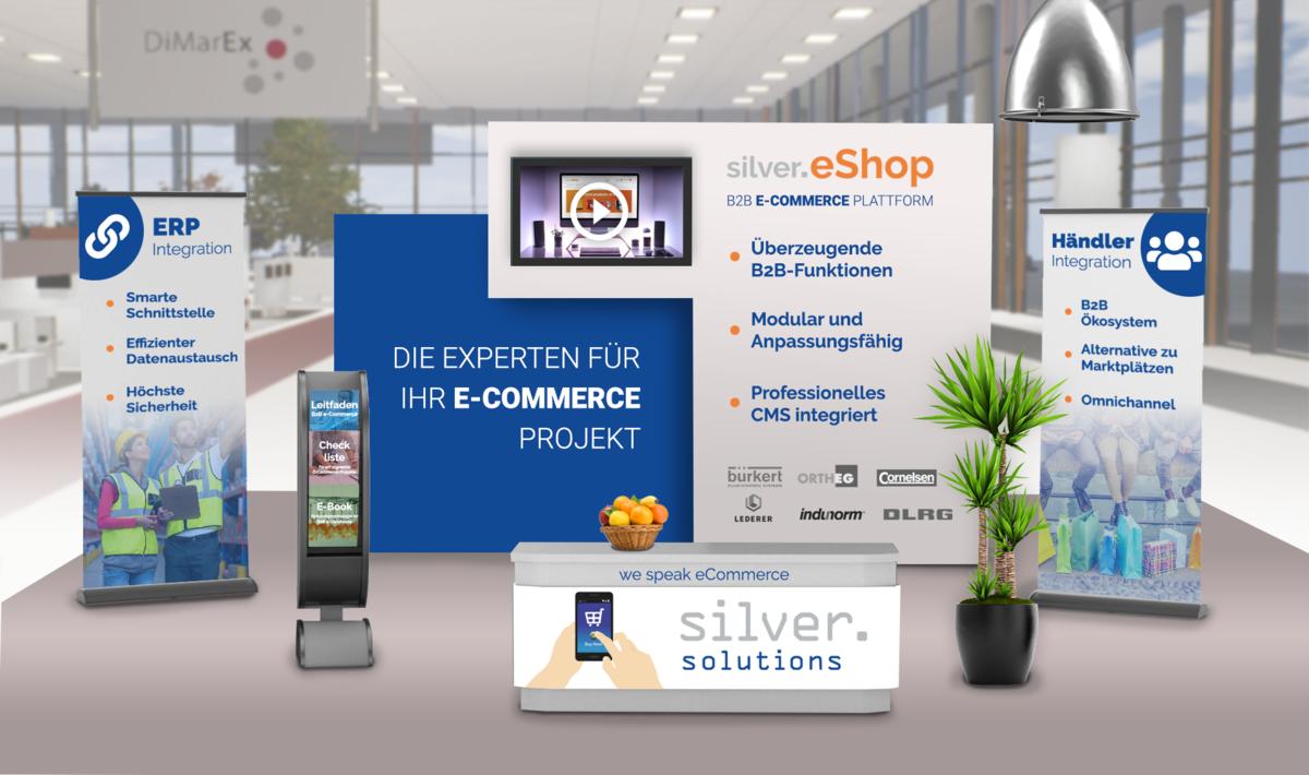 DiMarEx-Stand von silver.solutions