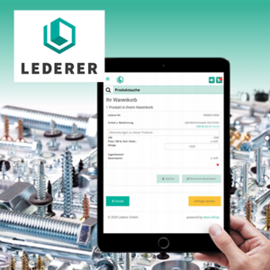 Lederer B2B Shop mit Integration in UNITOP Case Study