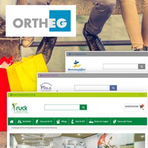 Ortheg Multi-Shop-Plattform für Fachhändler Case Study
