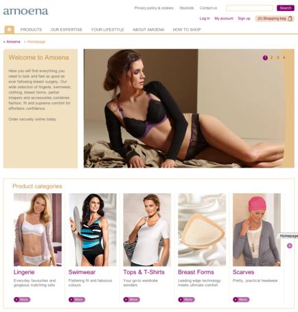 Amoena Homepage