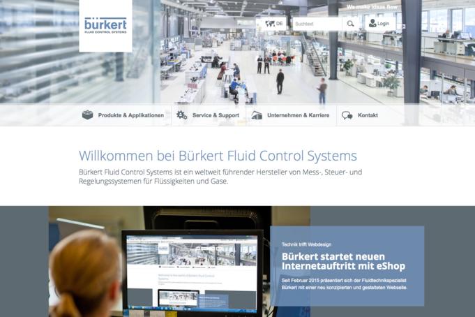 Burkert.com frontpage