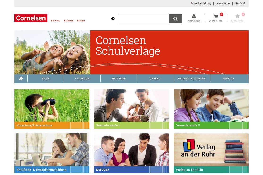 Cornelsen Schweiz - Homepage