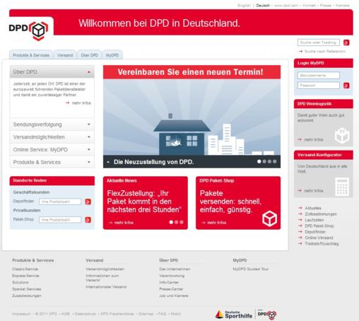 DPD Homepage