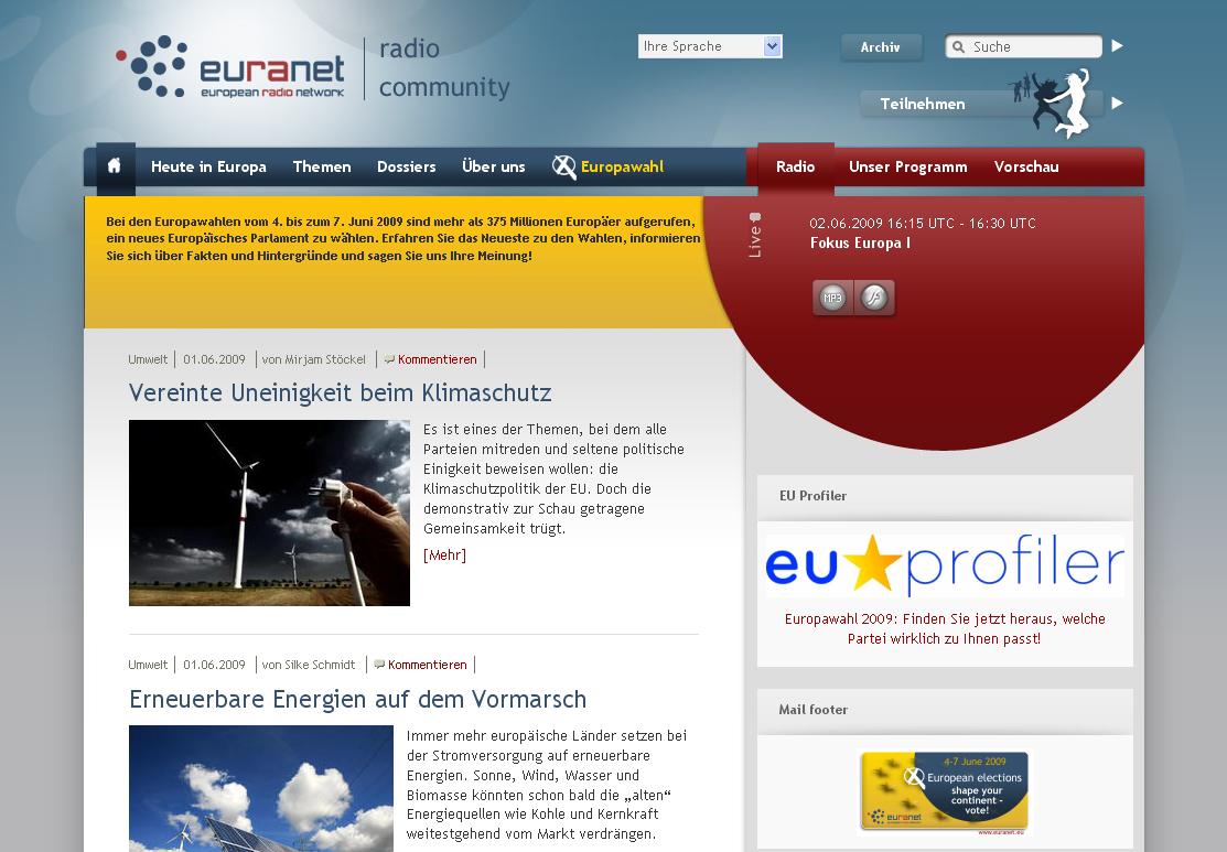 Euranet.eu 2008