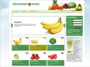 Fruchthof Homepage Screenshot