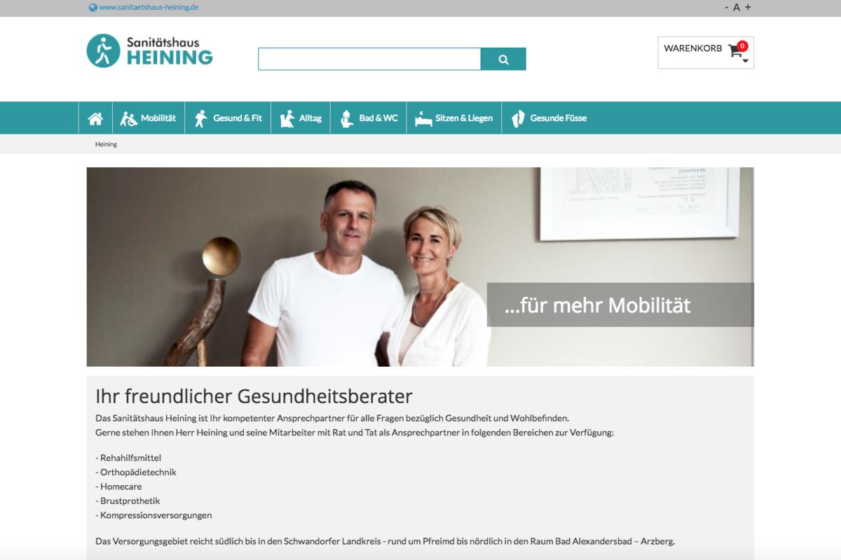 Heining Sanitätshaus Ortheg Multishop