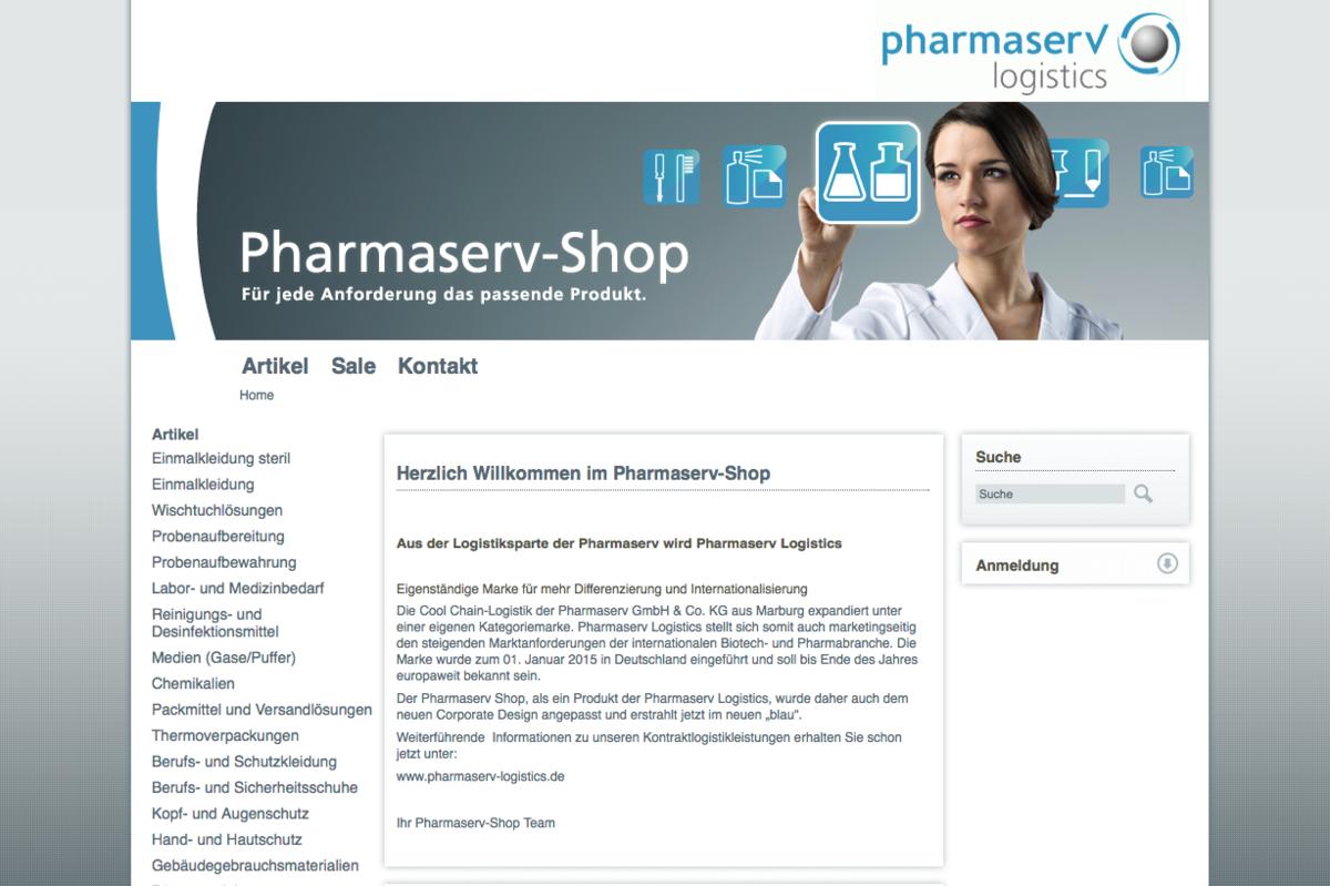 Pharmaserv Shop