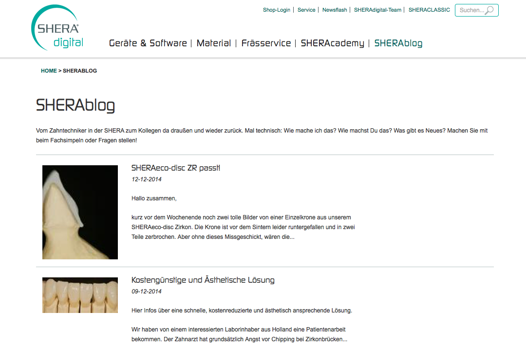 Shera Digital Blog