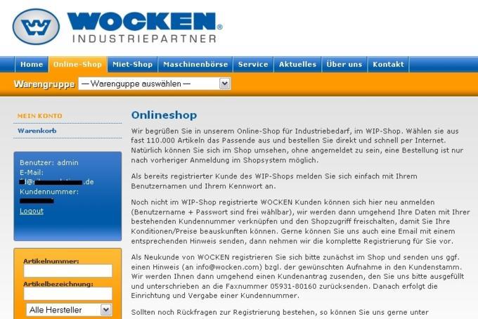WOCKEN Startseite