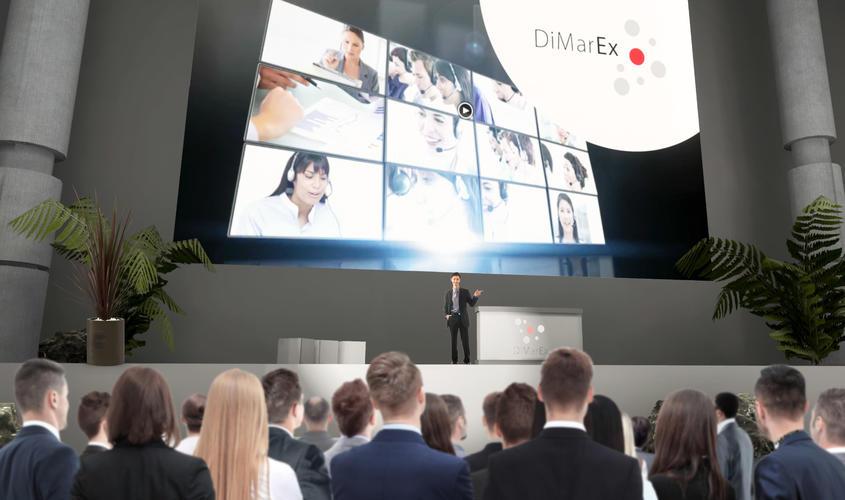 Dimarex-Konferenz-Bühne