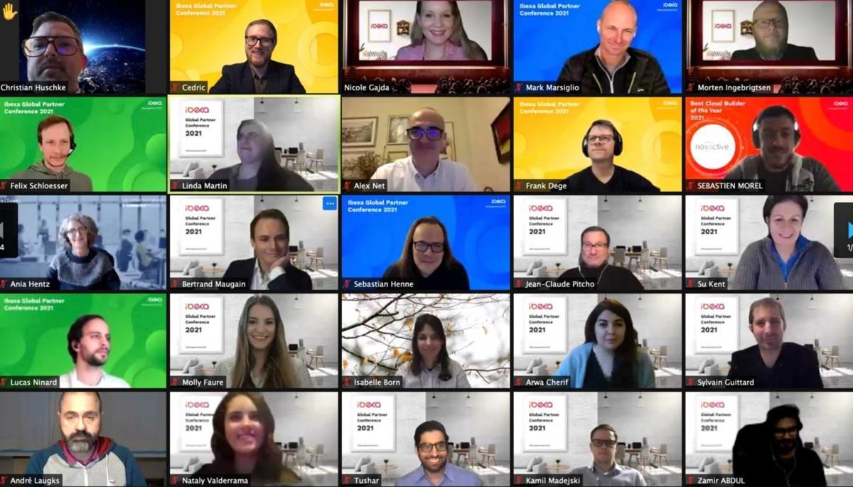 Ibexa Partnerkonferenz 2021 Zoom