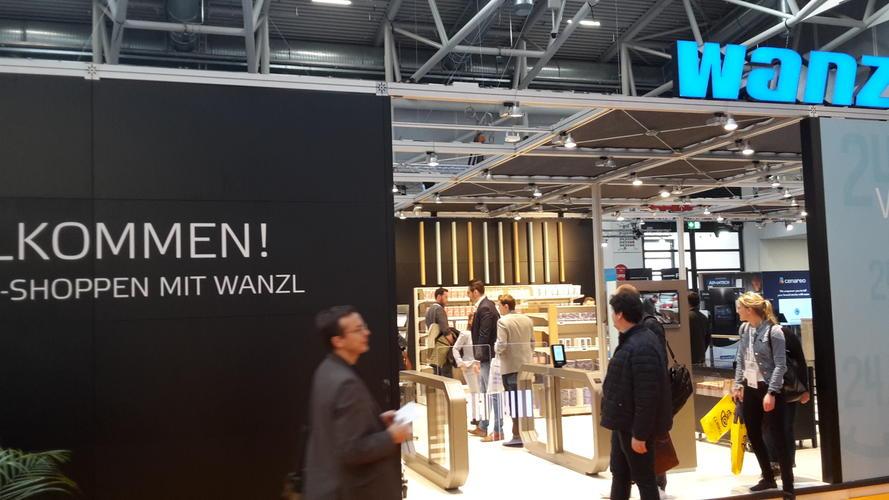 Pilot-Store für B2B-Einkäufer von Wanzl auf der Internet World EXPO