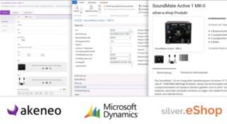 Akeneo Dynamics silver.eShop