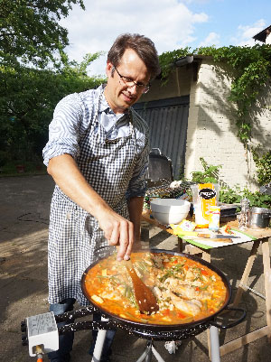 Sommerfest mit Paella bei silver.solutions