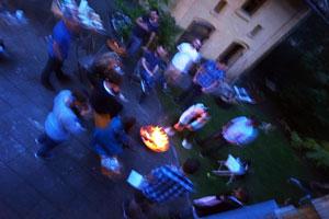Sommerfest im Garten